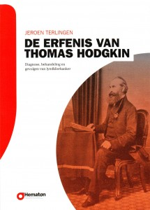 Elfde druk van De erfenis van Thomas Hodgkin, boek over de diagnose, behandeling en gevolgen van lymfklierkanker