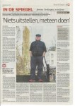 Interview met Jeroen Terlingen in het AD Utrechts Nieuwsblad, 31 januri 2015